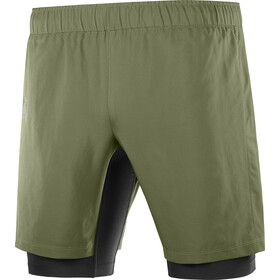 Salomon XA Twinskin Shorts Men, olive night